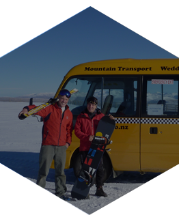 Daily shuttles from Wanaka to Cardrona and Treble Cone ski fields. Book Online.